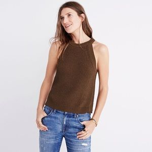 Madewell valley sweater tank